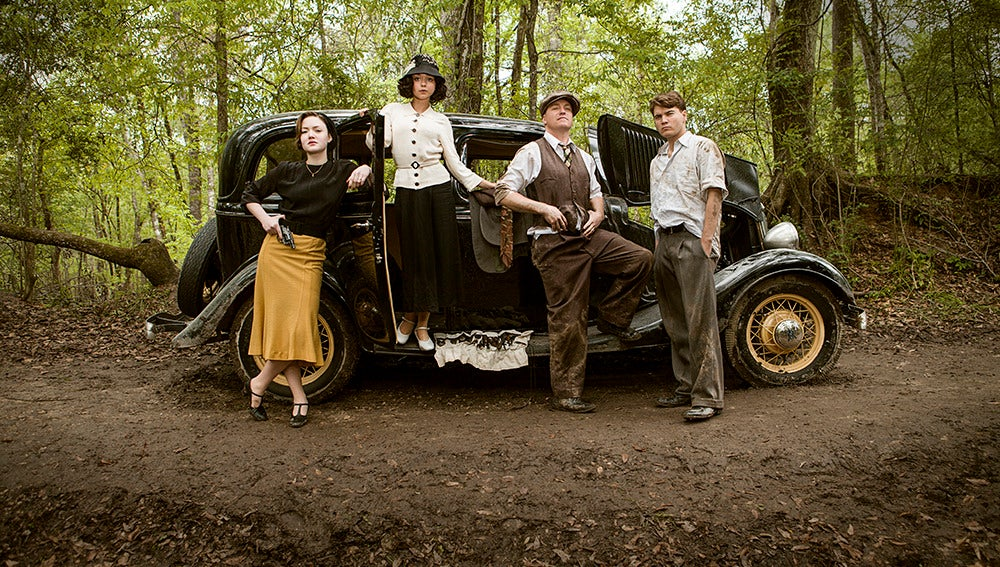 Bonnie, Blanche, Marvin y Clyde