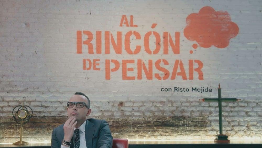 Risto Mejide en 'Al rincón de pensar'