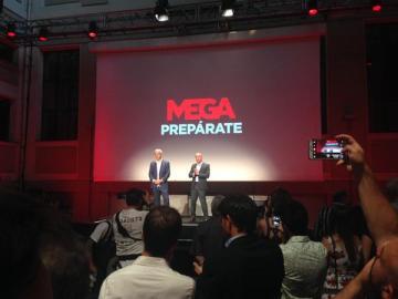Presentación oficial de Mega