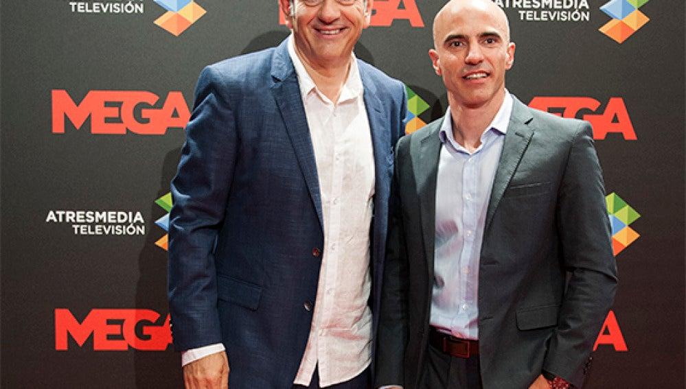 Carlos Sobera y José Antonio Antón