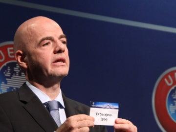 Sorteo play off UEFA Champions Leage