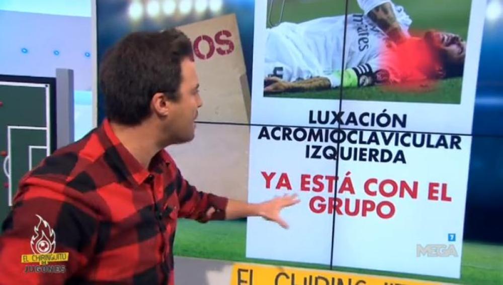 Nacho Peña en El Chiringuito de Jugones