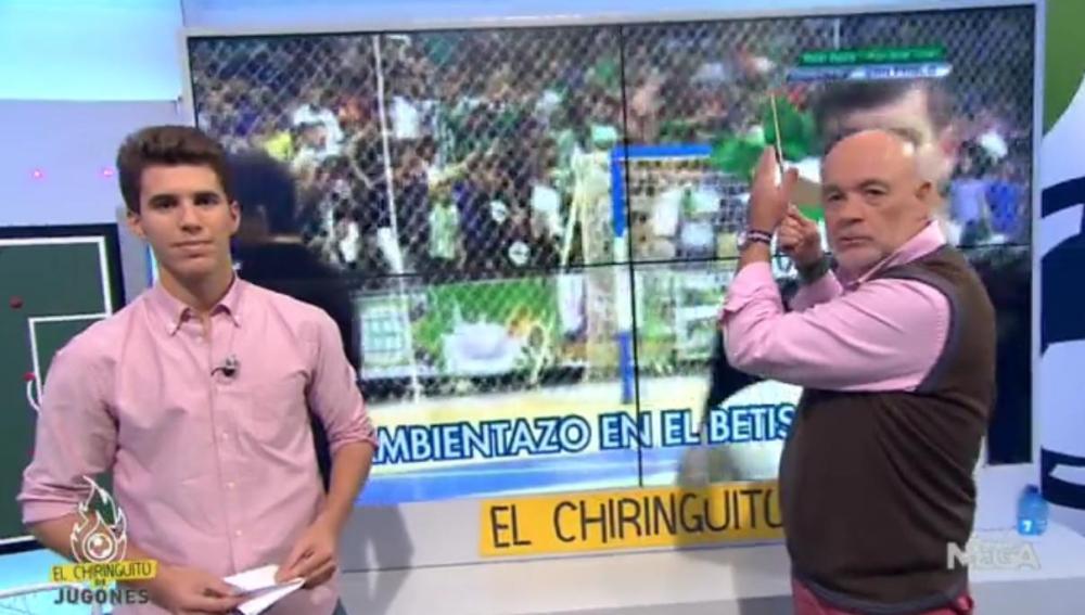 Álex Silvestre y Alfredo Duro