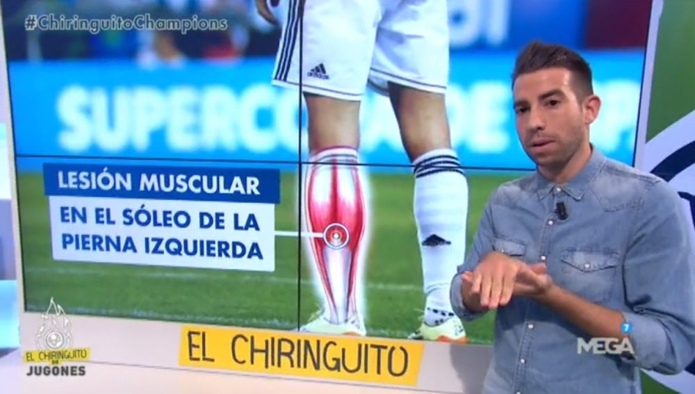 Santi Calleja, fisioterapeuta en El Chiringuito