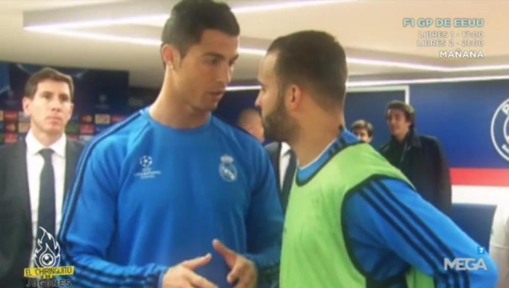 Cristiano Ronaldo y Jesé