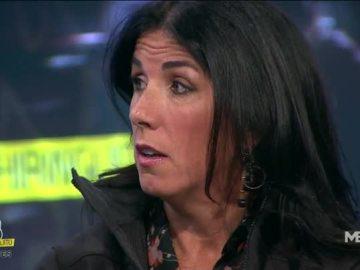 Cristina Cubero, en 'El Chiringuito de Mega'.