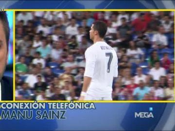 Cristiano Ronaldo y Roberto Morales