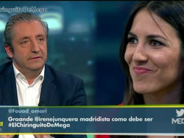 Josep Pedrerol e Irene Junquera