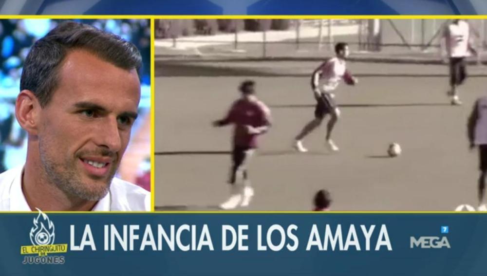 Antonio Amaya revive su infancia en El Chiringuito