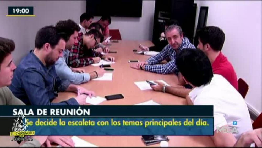 Reunión El Chiringuito