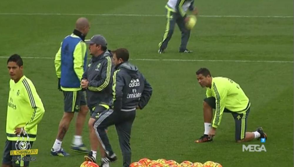 Cristiano Ronaldo 'burrea' a Rafa Benítez