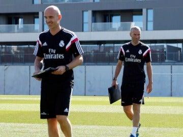 David Bettoni y Zinedine Zidane