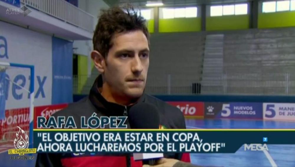 Rafa López, de Santa Coloma