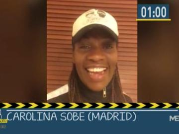 Carolina Sobe en El Chiringuito