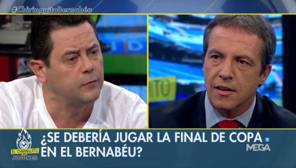 Tomás Roncero y Cristóbal Soria