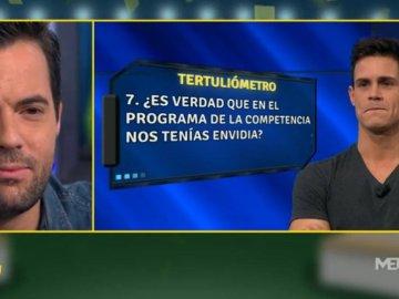 Edu Aguirre en el tertuliómetro