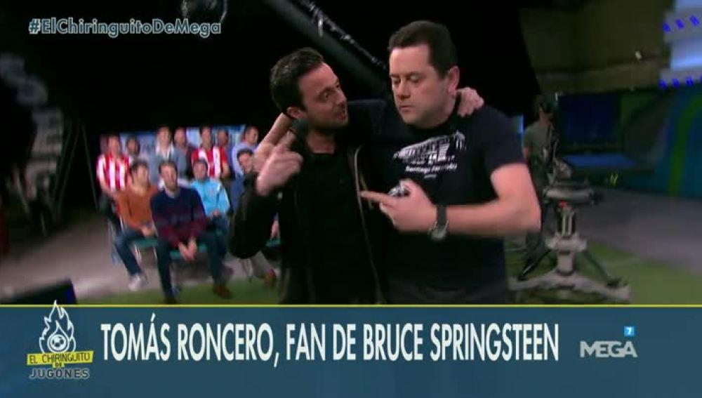 Tomás Roncero y Nacho Peña