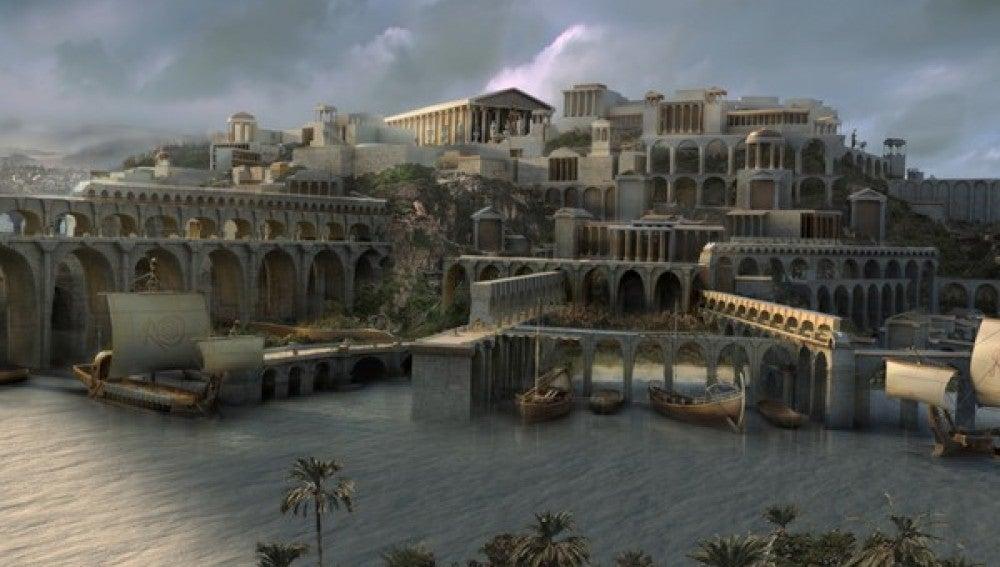 Mega busca el rastro  de la Atlántida, el mítico continente perdido
