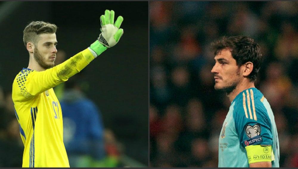 De Gea y Casillas