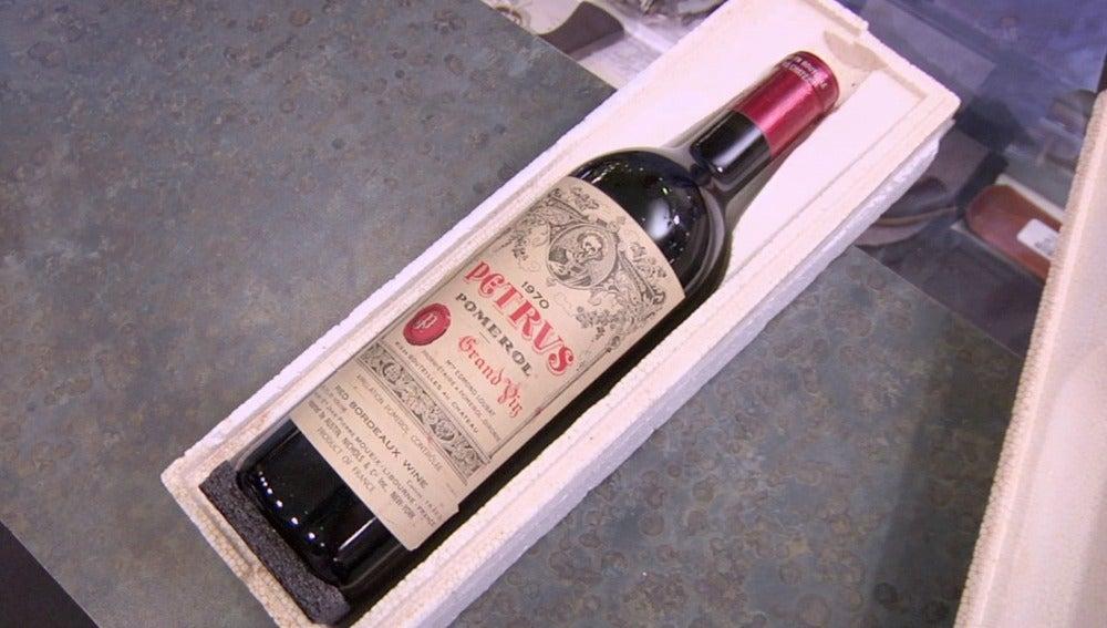 Una botella de vino de 2500 euros