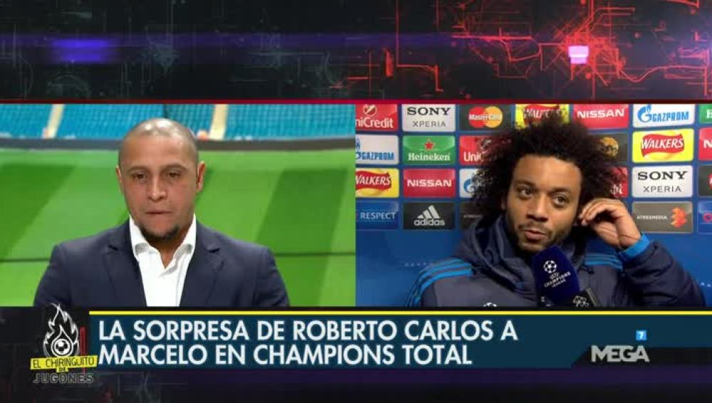 Roberto Carlos y Marcelo