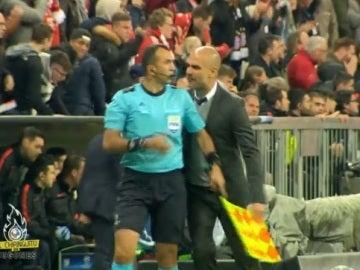 Detalles Bayern-Atleti