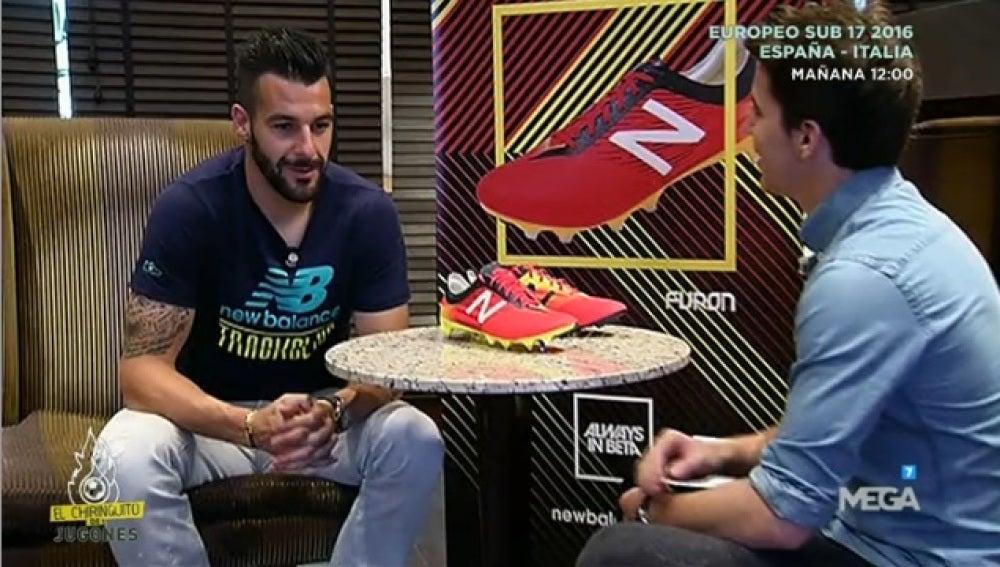 Entrevista Negredo