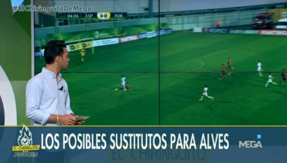 Sustitutos Alves y Mascherano