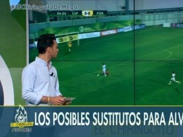 Sustitutos Alves y Mascherano