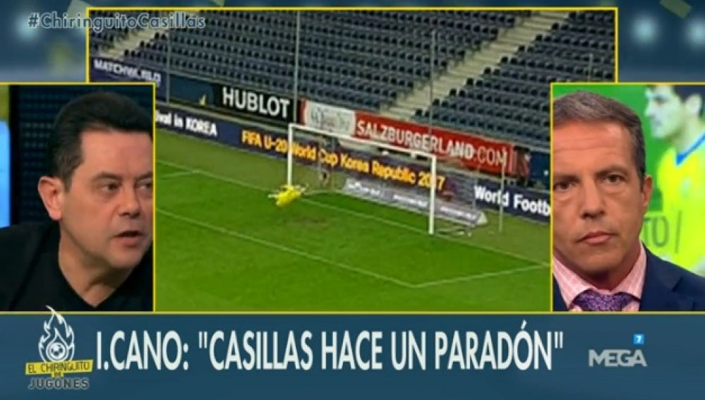 Debate Casillas-De Gea