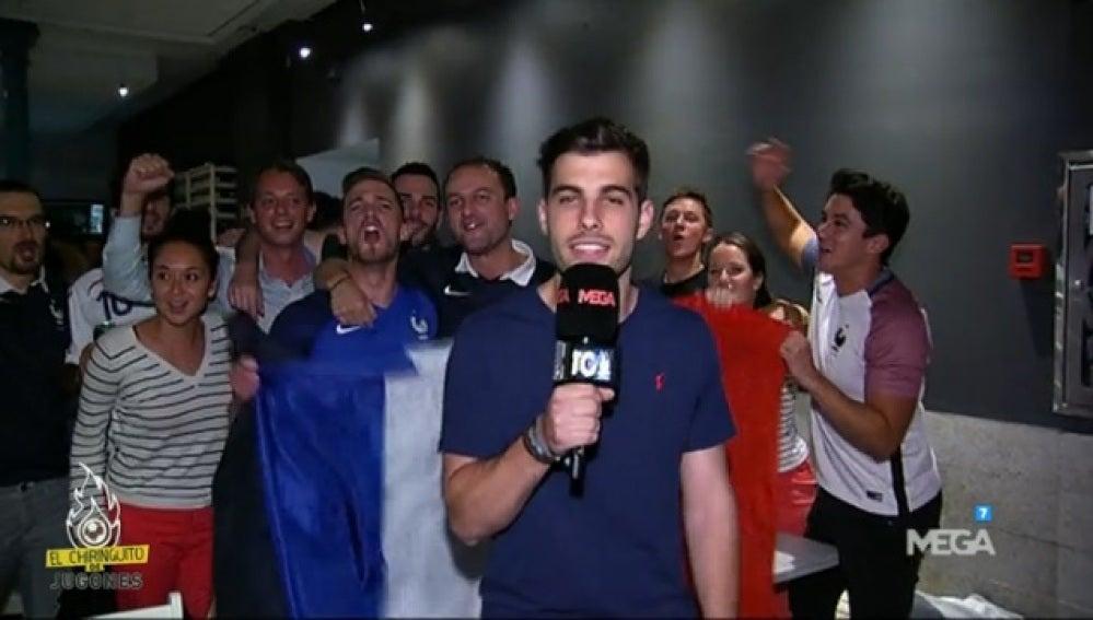 Reportaje partido Francia
