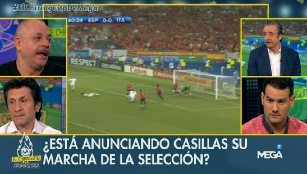 Mensaje Casillas