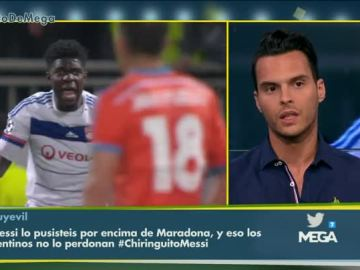 Diego Plaza analiza a Umtiti