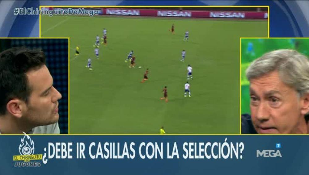 Casillas Selección Lopetegui