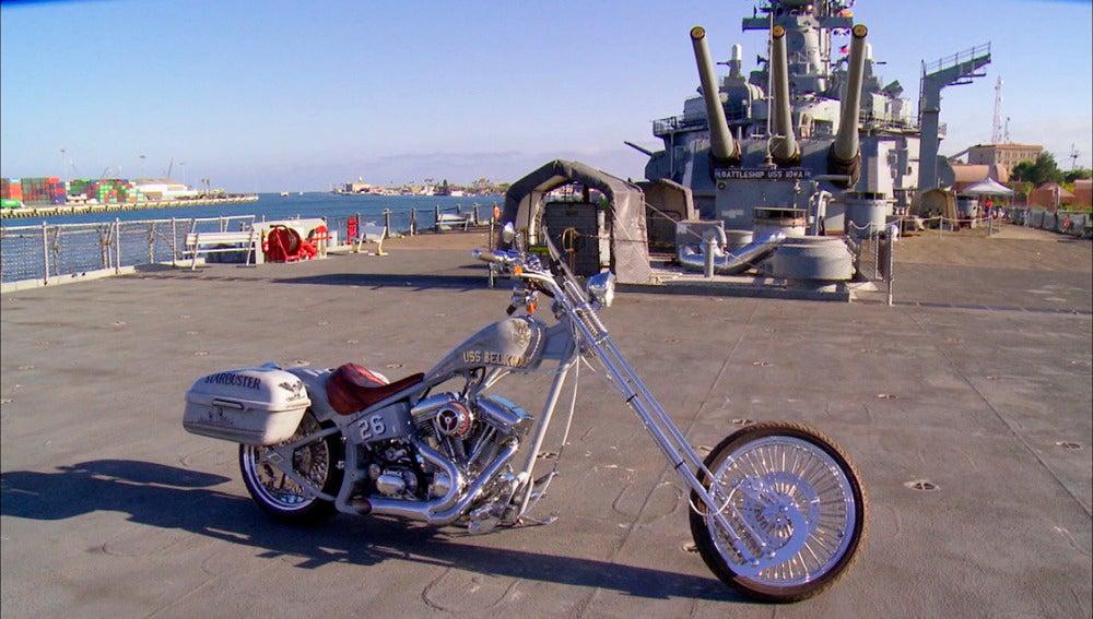 Un homenaje sobre dos ruedas