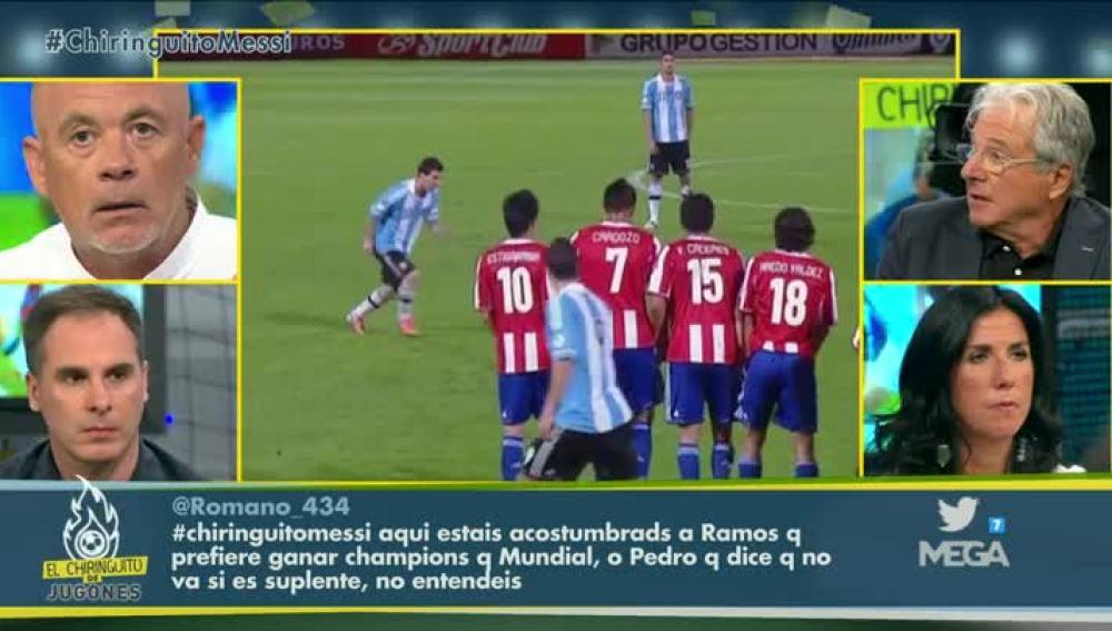 Debate Messi