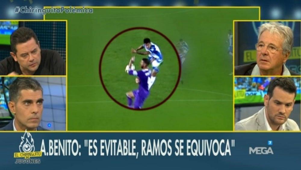 Debate mano Ramos