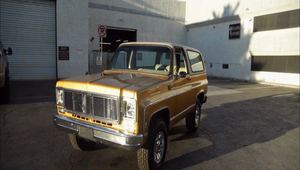Un Chevrolet Blazer reconstruído desde cero