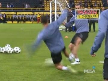 Entrenamiento Cristiano Dortmund