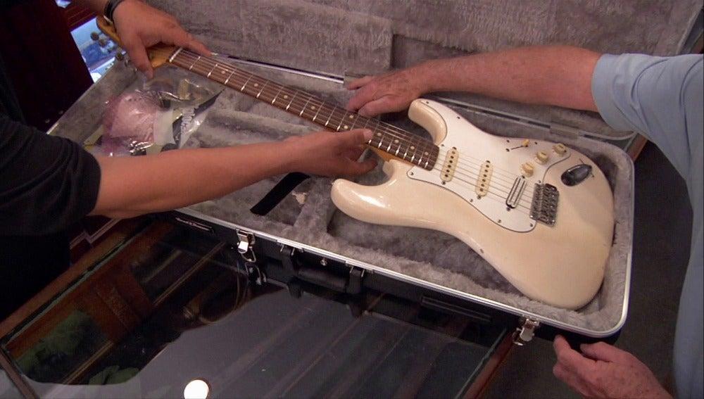Una guitarra con mucha historia