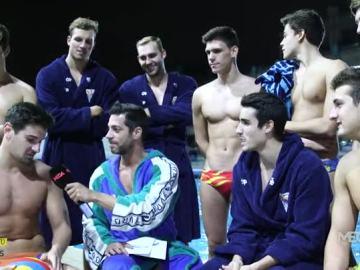 Marc Mayolas, con el Club Natación Barcelona