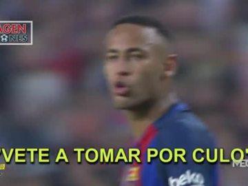 Lío entre Neymar y Vezo