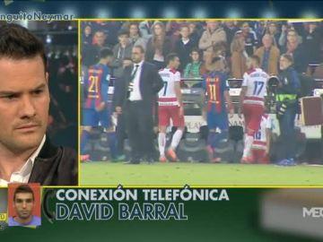 Conexión en directo con Barral