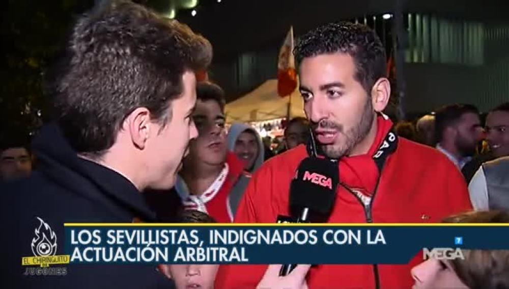 La encuesta de Álex Silvestre a los aficionados del Sevilla