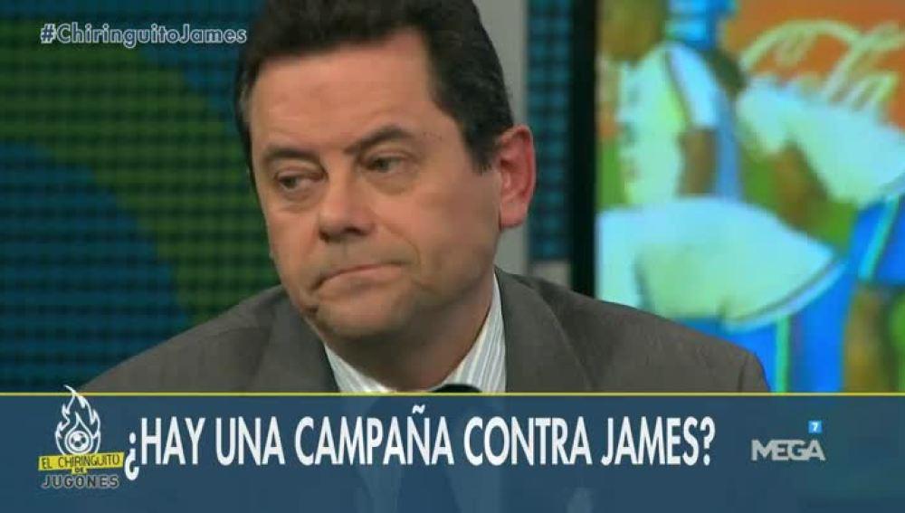 ¿Hay campaña contra James?