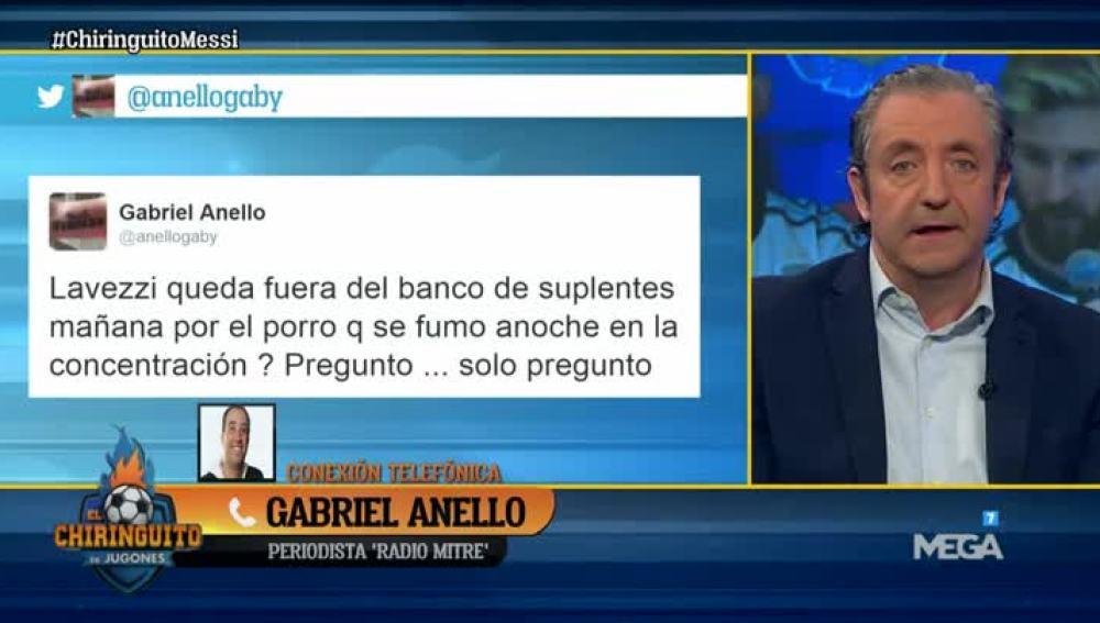 Conexión con Gabriel Anello