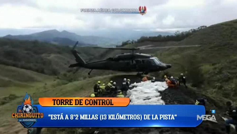 Diáologo entre piloto y torre de control en la tragedia aérea