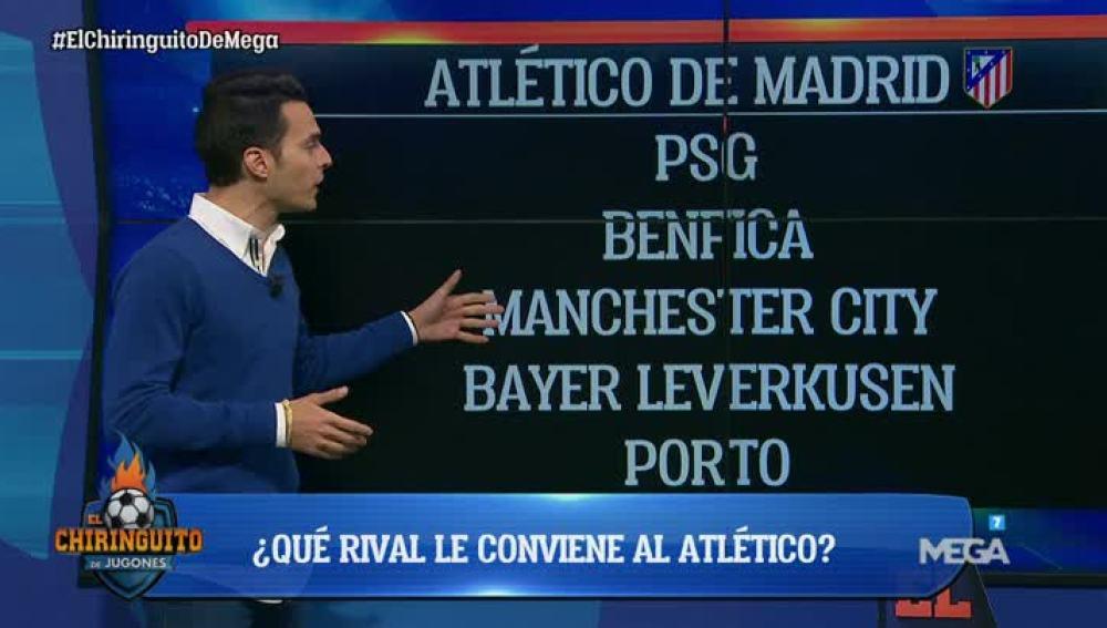 Diego analiza los rivales de los españoles