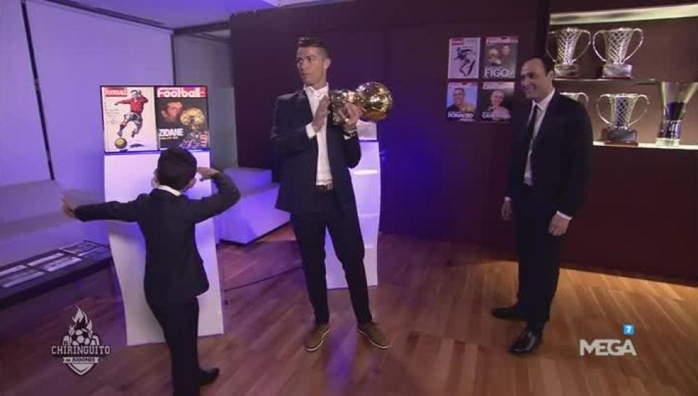 Los detalles de la entrega del Balón de Oro a Cristiano