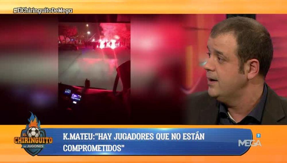Kike Mateu analiza la situación del Valencia